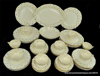 53pc Set Syracuse China Suzanne G2305 Federal Shape Service For 10 Vintage