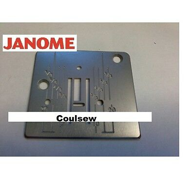 JANOME NEEDLE PLATE Fits All Basic Machines listed 2032 2050 2070 1018s 110 etc