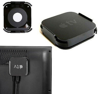 Wall Mount Case Bracket Holder for Apple TV 2/3 and AirPort Express Series Black