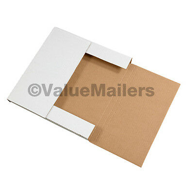 100 LP Heavy Duty Premium Record Album Mailers Book Box Variable Depth Mailers