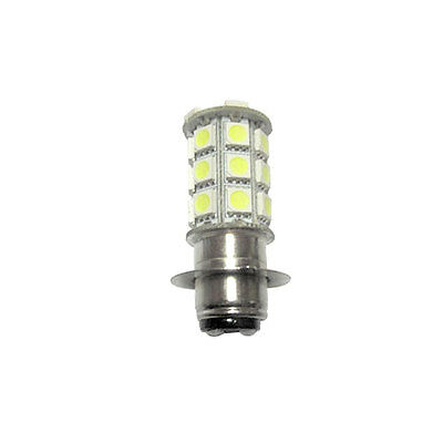 1X H6M Raptor Led 27 5050 Smd 700 Quad Bike Atv Bulb 12V P15D-25-1 White