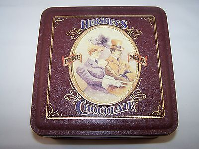 HERSHEY'S PURE MILK CHOCOLATE VINTAGE EDITION #4 TIN CAN