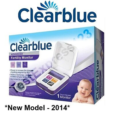 *New Model 2014* Clearblue Advanced Fertility Monitor  (Discreet P&P)