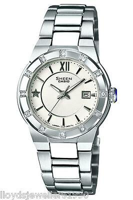 Casio Sheen SHE-4500D-1AEF SHE-4500D-7AER StainlessSteel Bracelet Watch RRP £150