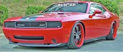 2008-2014 Dodge Challenger GTS Acrylic Smoke Fog Light Covers Protection Pair !!