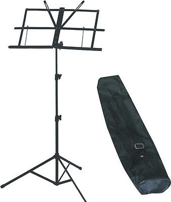 Artist MUS006 Fold-able Music Stand with Bag - New