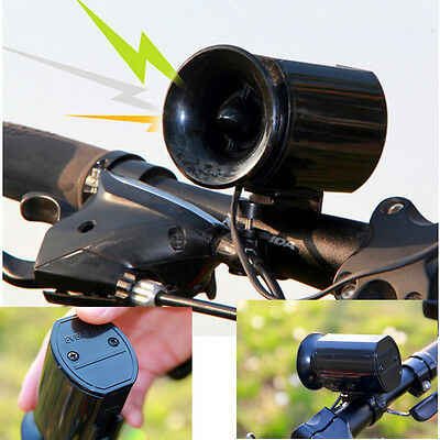 6 Sound MTB Bicycle Bike Bell Alarm Siren Horn Ring Loud Bicycle With 9V Battery