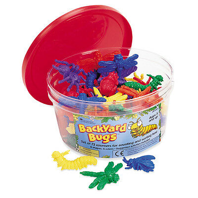 Learning Resources Backyard Bugs (Set of 72)