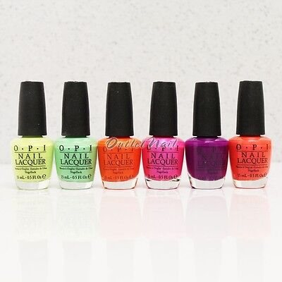 OPI Nail Lacquer NEON COLLECTION Summer Colors 2014/ 2015 - Pick ANY Shades