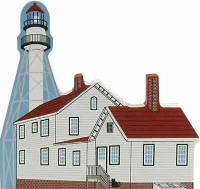 Cat's Meow Village Michigan Whitefish Point Lighthouse #6995 NEW Ship Discounts
