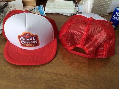 CHUCK E CHEESE pizza time theater pizza RARE NOS HAT! LIMITED QUANTATIES