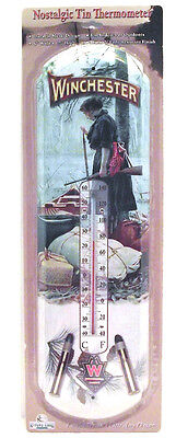 """WINCHESTER, """"NOSTALGIC  """",THERMOMETER...FREE SHIPPING"""