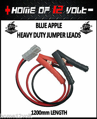 Thumper Jumper leads 1200mm w 175 Amp Anderson connector JUMP START 12 VOLT AGM