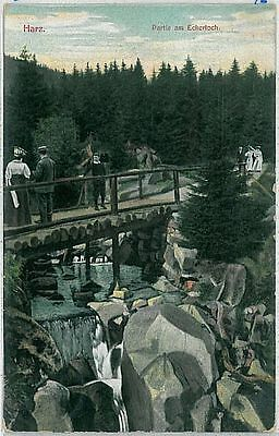 VINTAGE POSTCARD: GERMANY -   Harz  1909