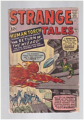 Strange Tales # 105  5th solo Human Torch grade 1.8 scarce hot book !!