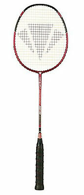 Badmintonschläger Carlton Powerblade Superlite Red / rot + Top Bonus