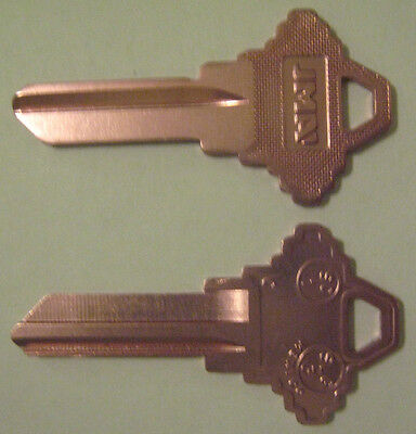 2 Pink Blank House Keys For 5 Pin Schlage Locks Sc1 Can Be Punched To Your Code