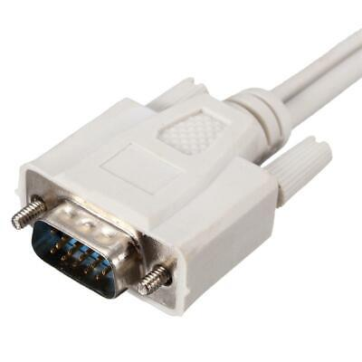 Vga Splitter Cable Y Adapter For Lcd Crt Monitor 15 Pin