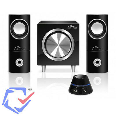 Lautschprecher Set Bass Subwoofer Stereo Sound System Audio System MP3