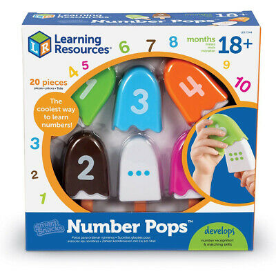 Learning Resources Smart Snacks Number Pops Educational Aid NEW