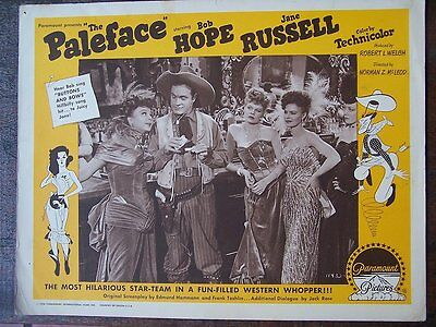THE PALEFACE,Bob Hope ,lc1136