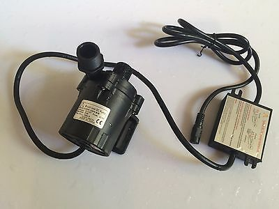 12V Micro Hot Water Circulation Pump Brushless 50E-1280S 8m 1000LPH, Submersible