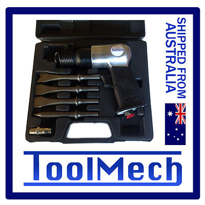 Air Hammer Chisel Kit Hand Tool Free Express Shipping Pneumatic