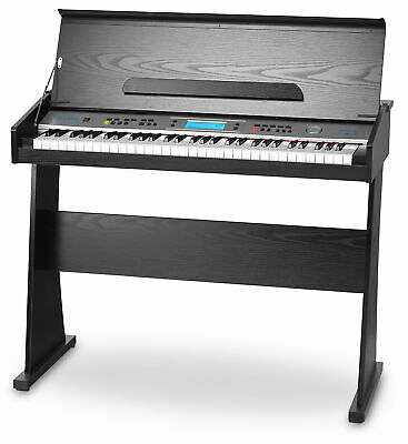 61 Keys Beginner Electric Piano Digital Piano Keyboard 128 Sounds Rhythms Lcd