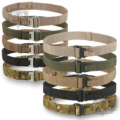 Military Roll Pin Belt Airborne  All Colours Silver Or Black Buckle