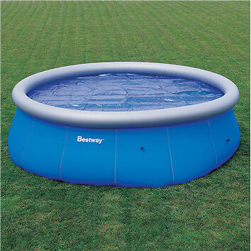 Bestway 8ft Clear Fast Set Pool - Swimming Paddling