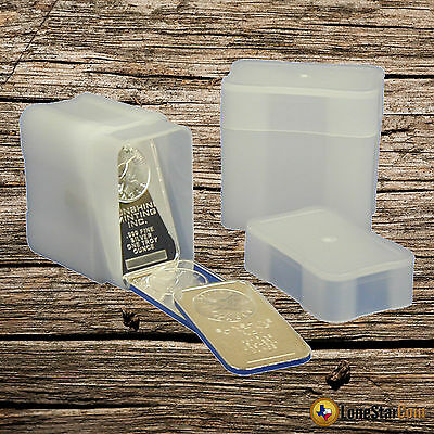 1 - Coinsafe 1 Oz Silver Bar Storage Tube -  Holds 20 Bars