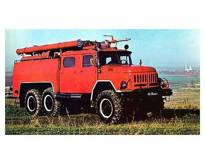 1966 AA 40 131 Airfield Fire Engine Photo Russia uc7120