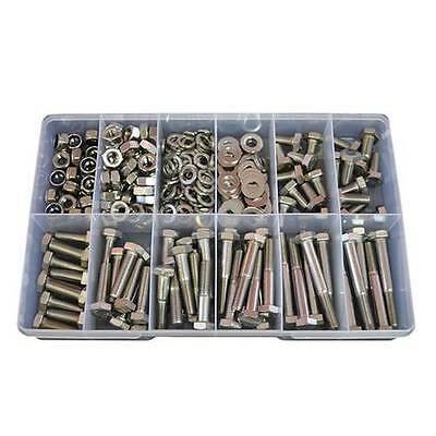 Qty 280 Hex Bolt Kit M10 Stainless Steel 304 Screw Nut Washer #280