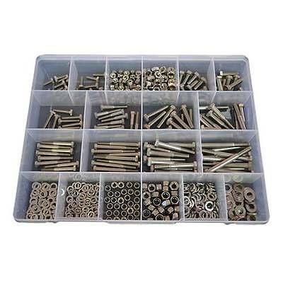 Qty 540 Hex Bolt Kit M6 M8 Stainless Steel 316 Marine Screw Nut Washer Boat #286