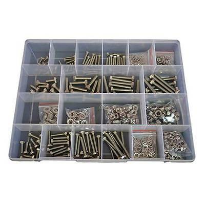 Kit Size 600 Hex Bolt M5 M6 M8 Stainless Steel G304 Screw Nut Washer #282