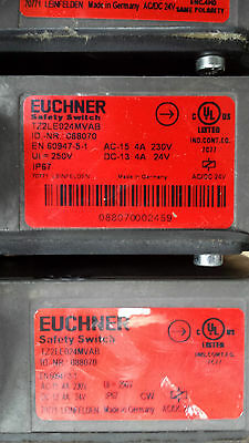 Euchner TZ2LE024MVAB Safety Switch IN EXCELLENT CONDITION