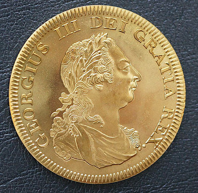1808 Bahamas  Retro Pattern Proof Crown Golden Alloy 5 S. George III w/COA