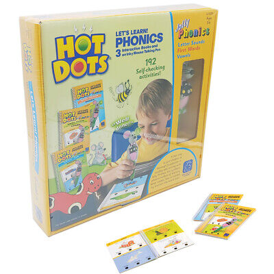Learning Resources Hot Dots Lets Learn! Phonics