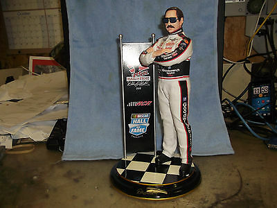 """""""Dale Earnhardt NASCAR Hall Of Fame"""" 2010 Commemorative Statue Limited Edition"""