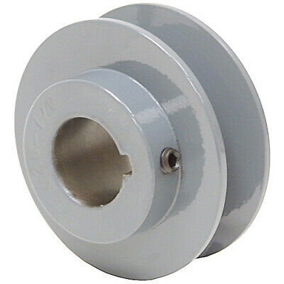 "2.45"" Diameter 5/8"" Bore 1 Groove V-Belt Pulley 1-Bk24-B"