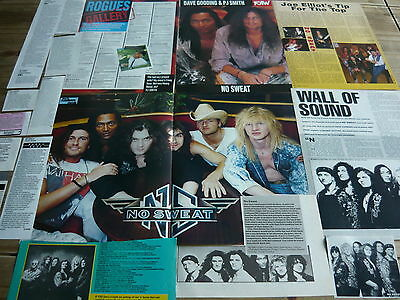 NO SWEAT - MAGAZINE POSTER/CUTTINGS COLLECTION (REF S16)