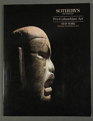 Sothebys Pre-Columbian Art NY November 1993 with prices