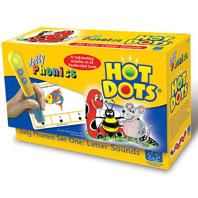 Learning Resources Hot Dots Jolly Phonics Letter Sounds