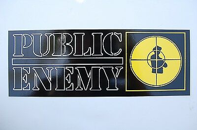 Public Enemy Sticker Decal (S222) Rap Hip Hop NWA Ice Cube Car Truck Window JDM