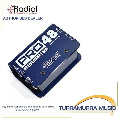 Radial Pro48 Active Direct Input Injection Box DI Pro 48