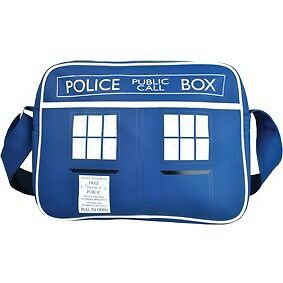 Messenger Bag - Doctor Dr Who Tardis Police Call Box