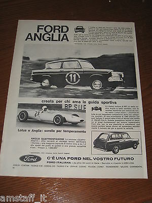 Ai24=1963=Ford Anglia Rally + Lotus=Pubblicita'=Advertising=Werbung=