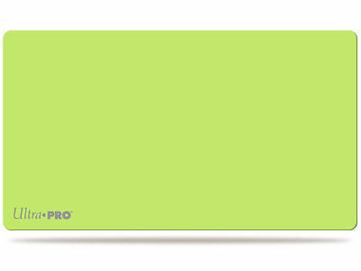 Lime Green Vinyl Ultra Pro Artists Play Mat for MTG Pokemon Yugioh Sports + More