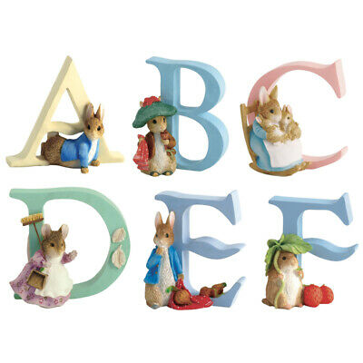The World of Beatrix Potter Alphabet- Choice of Letters (One Supplied)