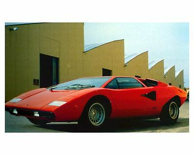 1971 Lamborghini LP 500 Countach Factory Photo Bertone uc7400